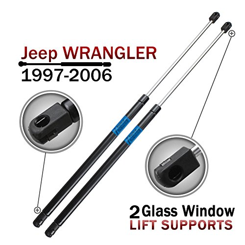 Window Charged Supports Shocks Wrangler