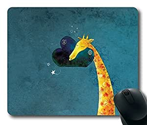 Cute Giraffe Masterpiece Limited Design Oblong Mouse Pad by Cases & Mousepads