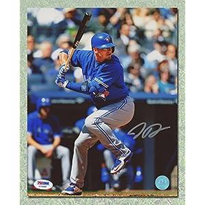 Josh Donaldson Toronto Blue Jays Autographed sunglass batting 8x10 Photo - PSA
