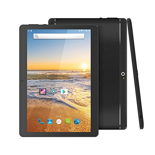 YELLYOUTH 10 inch Android Tablet with Sim Card Slot Unlocked 3G Phone Call Phablet 4GB RAM 64GB ROM Octa Core 10.1