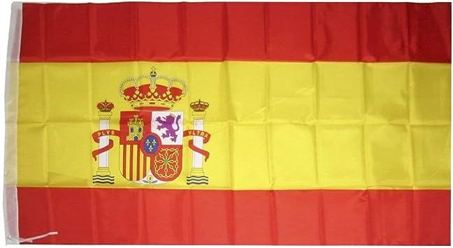 Genérico - Bandera de españa 90 x 150 cm: Amazon.es: Hogar