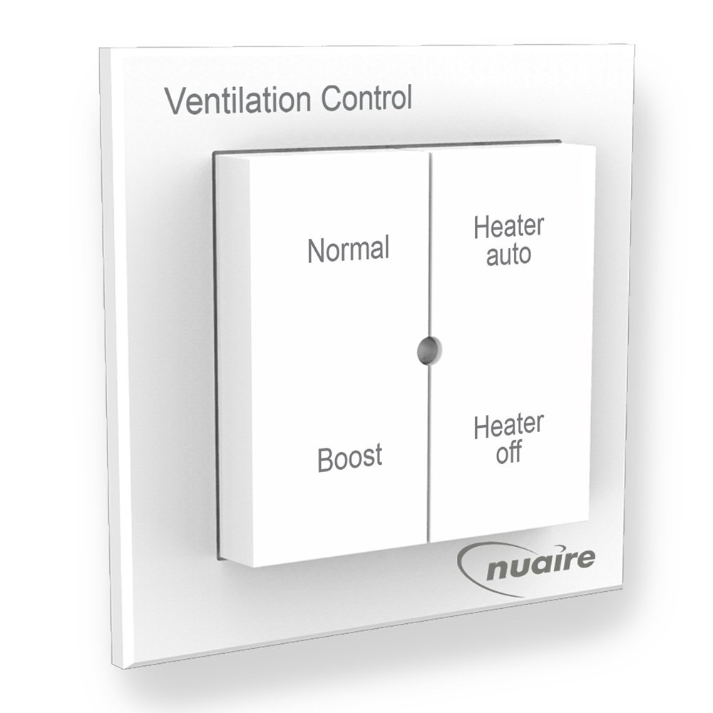 4 Way Heater And Boost Control Switch For Use With Nuaire Drimaster Hgf Remote Thermostat Eco Heat Only Large Appliances