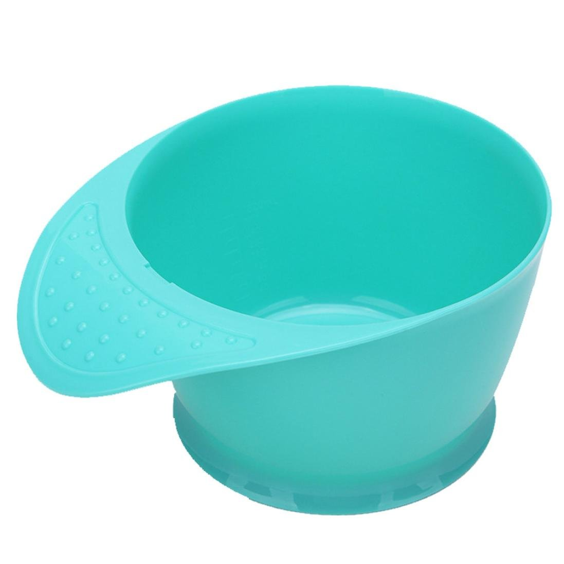 Yeefant Beauty Easy Clean Hairdressing Colouring Bleaching Dye Mixing Bowl Tool Tint Salon for Holding Hair Dye, Hairdressing Gel,Gray BCT545215886