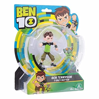Ben 10 & Grey Matter Action Figure Twin Pack: Toys & Games