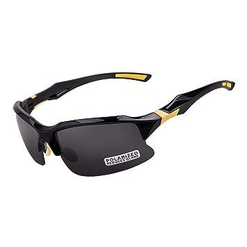 Mmsww Gafas de esquí, Gafas de Bicicleta Deportes Paseo Gafas de Sol Deportes al Aire
