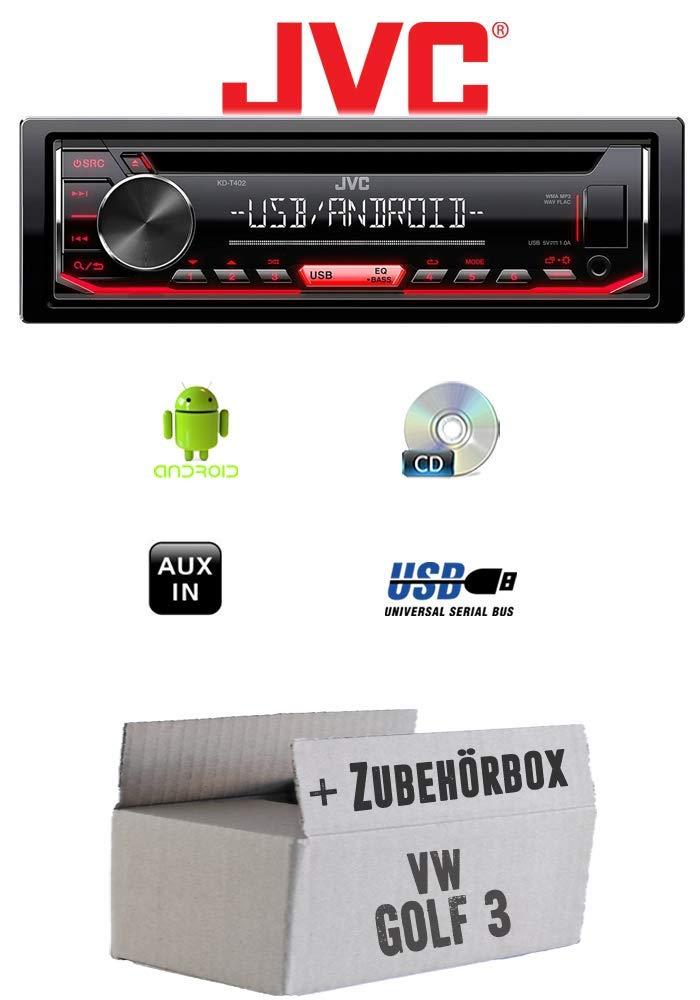 Einbauset f/ür Audi TT 8N Bose USB MP3 JUST SOUND best choice for caraudio Android 4x50Watt Autoradio Radio JVC KD-X151 Einbauzubeh/ör