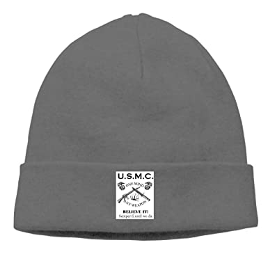 cleaer USMC Marine Corps Winter Warm Knit Skull Cap for Mens ...