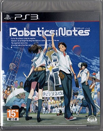 PS3 Robotics; Notes Asian version Chinese subtitle Japanese voice