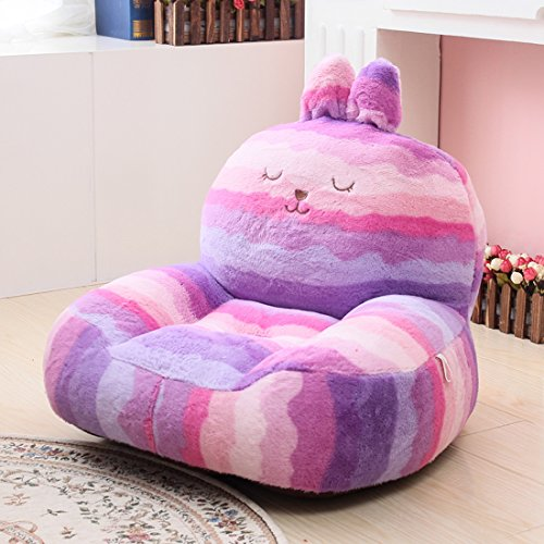 Price comparison product image HIGOGOGO Children's Furniture Plush Cartoon Chair Kid's Sofa Toys Colorful Mini Sofa Baby Chair (Purple)