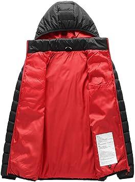 Ogrzewana kurtka damska z kapturem, wodoszczelna, wiatroodporna, ogrzewany płaszcz z zamkami błyskawicznymi i kapturem: Sport & Freizeit