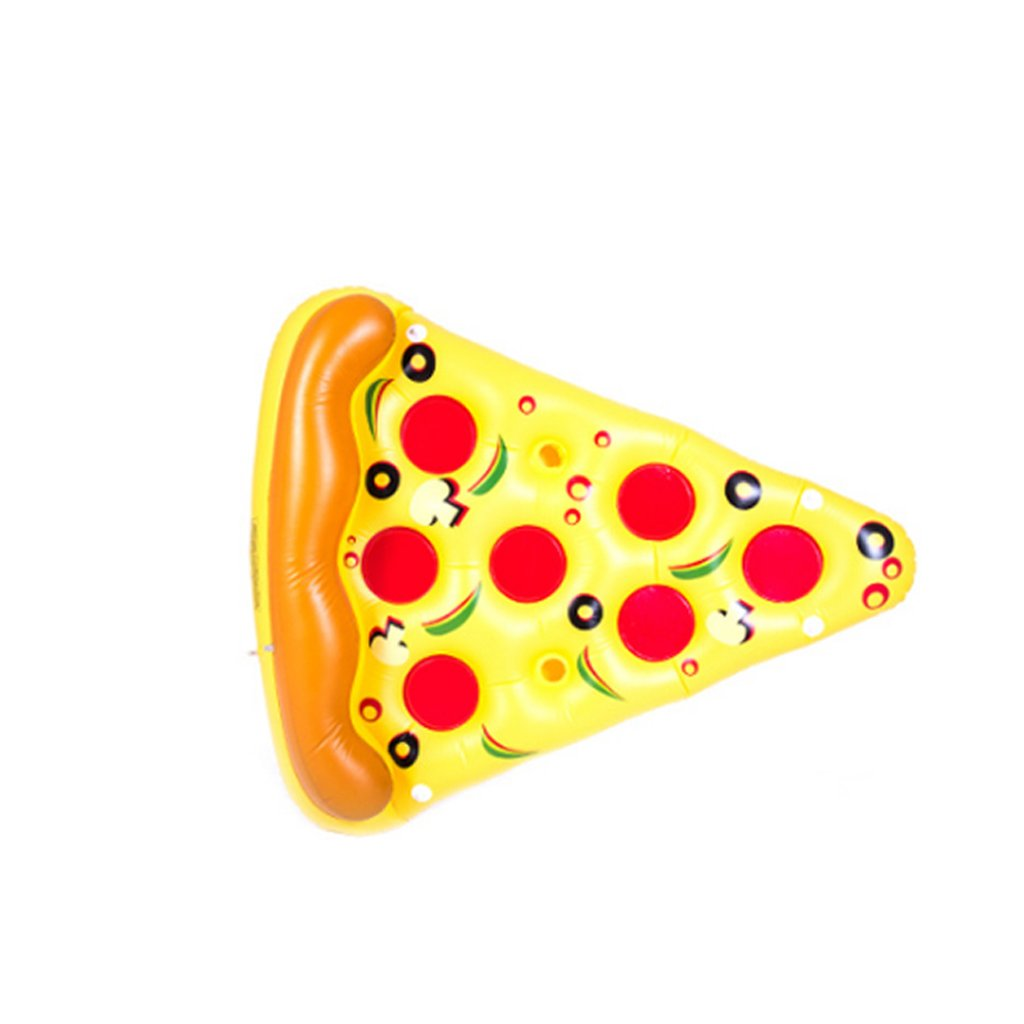 Pizza Inflatable Swim Ring Water Pineapple Watermelon Rainbow Pizza Cactus Eggplant Shape Floating Row Swimming Float Cushion Summer Essential Rollsnownow (Size   Cactus)
