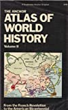 img - for The Anchor Atlas of World History, Vol. 2 (From the French Revolution to the American Bicentennial) by Hermann Kinder (1978-05-19) book / textbook / text book