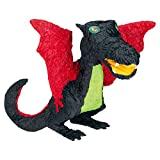 Black Dragon Shaped 22in x 10 1/2in Pinata