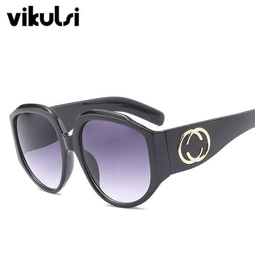 Yangjing-hl Diseñador de la Marca Gafas de Sol cuadradas de ...