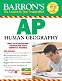 img - for Barron's AP Human Geography, 5th Edition book / textbook / text book