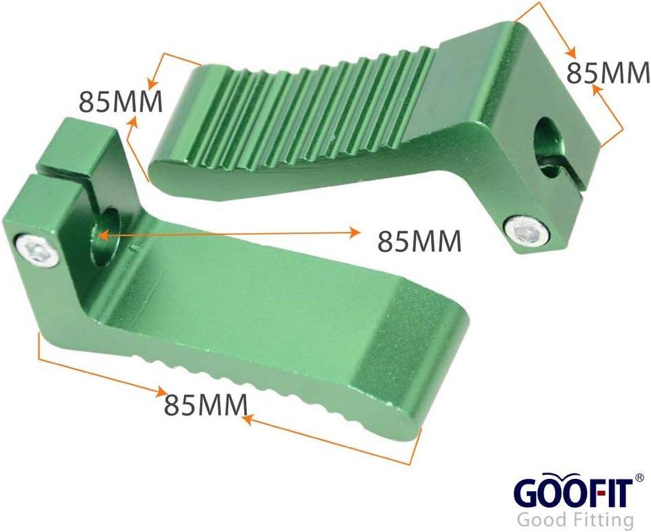 goofit peque/ño soporte incre/íble para de 2/Stroke 47/cc Pocket Bike Dirt Bike Plata