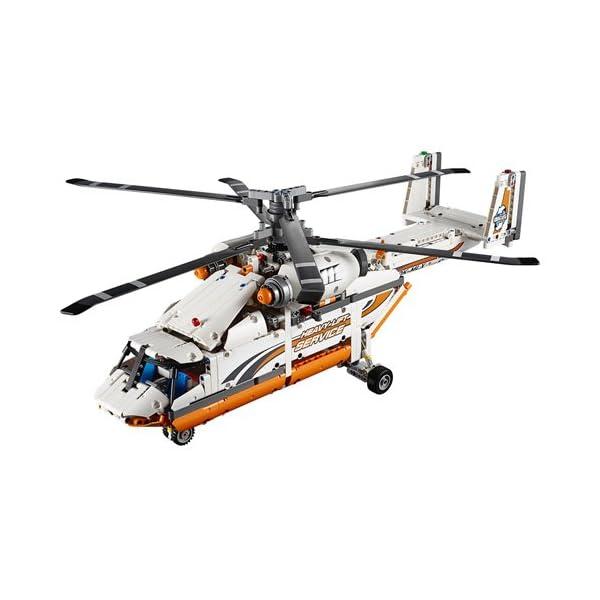 LEGO Technic Elicottero da Carico Costruzioni Gioco Bambina Giocattolo, Multicolore, 42052 2 spesavip