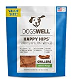 Dogswell Happy Hips Dog Treats, Chicken Flavor, 25 Ounce