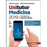 Unitutor medicina 2019. Test di ammissione per medicina e chirurgia, odontoiatria, veterinaria. Con app. Con e-book