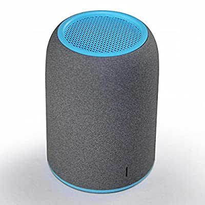 ZENBRE M4 Ultra Portable Bluetooth 3.0 Speakers, Built-in Rechargeable Battery, 5 Hours Play Time, Built-in Mic, Ultra Compact Palm Size Speakers