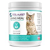 Vital Planet - Living Meal for Cats - Organic Daily Superfood Blend for Cats - 30 servings by Vital Planet