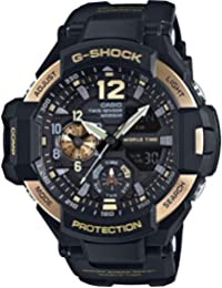 G-Shock Black Dial Resin Quartz Men's Watch GA1100-9G