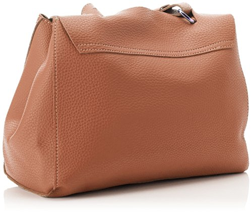 Swankyswans Damen Kelly 2 in 1 Shoulder Handbag Schultertasche, 12x24x30 centimeters Braun (Tan)