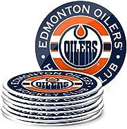 Mustang Products Edmonton Oilers 8 Pack Team Logo Coaster Set