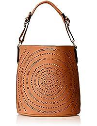 Calista Perforated Shoulder Bag