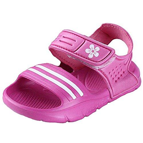 Highdas Sommer Children Strand Sandalen Rutschfest Verschleißfeste Klein Boy Beiläufig Sandalen Girls Jungen Shoes Child Draussen Sandalen Rose