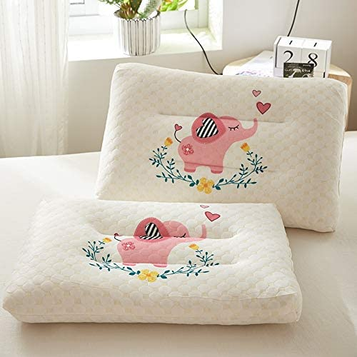 NEW Kids Pillow Natural Latex Baby Bed