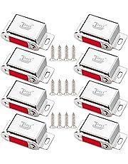 Kast Magnetische Catch Jiayi 2 Pack Deurmagneet Vangst 10 KG Pull Kabinet Klinken Hardware Rvs Deur Magneten voor Keuken Kledingkast Magneet Deursluiters Kast Deursluitingen