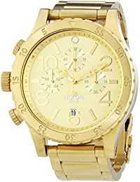 A486-1502 Mens The 48-20 Chrono All Gold Watch