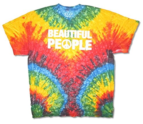 ASAP FERG Beautiful People Tie Dye T-Shirt A$AP Mob (2X)