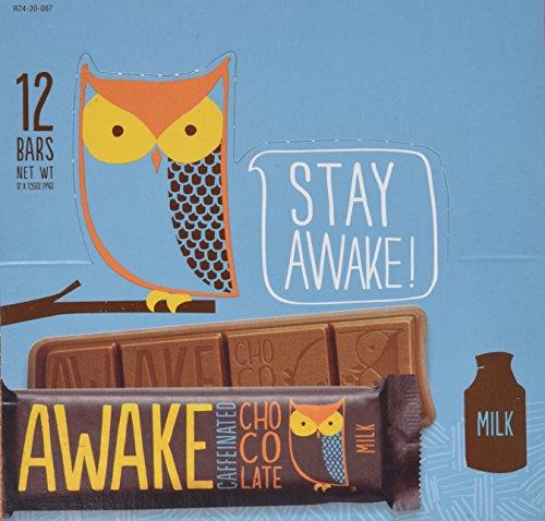 AWAKE Chocolate - Milk 1.55oz - 12pk