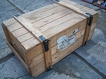 Extra Large Vintage Wooden Boxbench Approx 40 Years Old Amazon
