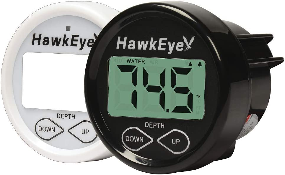 HawkEye DT2BXTM In-Dash Depth Sounder with Air and Water Temperature
