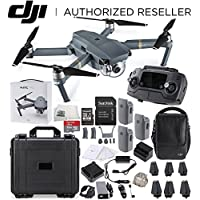 DJI Mavic Pro FLY MORE COMBO Collapsible Quadcopter Water Proof Hard Case Starters Bundle