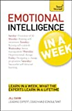 Emotional Intelligence in a Week, Jill Dann, 1444159135