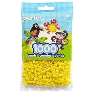 Perler Beads 1,000/Pkg, Yellow