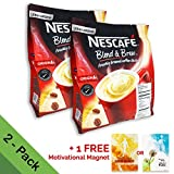 coffee 1 cup servings - 2-PACK Nescafe 3 in 1 Instant Coffee Sticks ORIGINAL - Best Asian Coffee Imported from Nestle Malaysia (56 Sticks total)