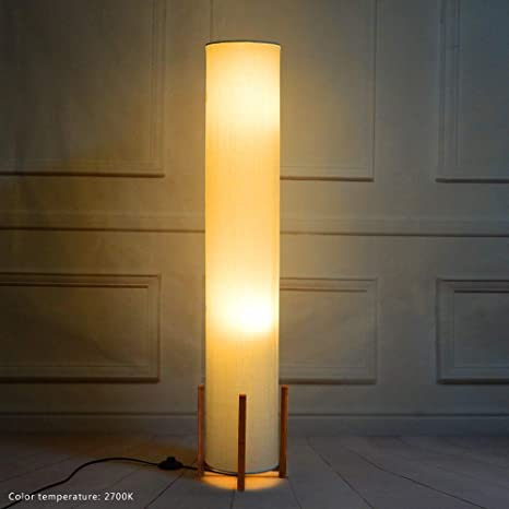 reputable site 00fea 63b20 Floor lamp Wello Led Torchiere Floor lamp For Living Room - Tall Standing  Lamp For Bedrooms office - Dimmable Modern Floor lamps – Asian Nature  Bamboo ...