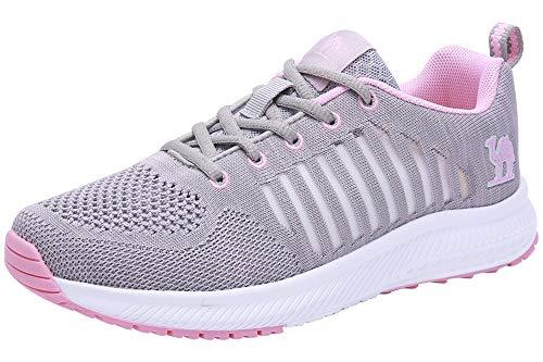 793b46d60d356 CAMEL CROWN Trail Running Shoes Women Breathable Mesh Tennis Shoes ...