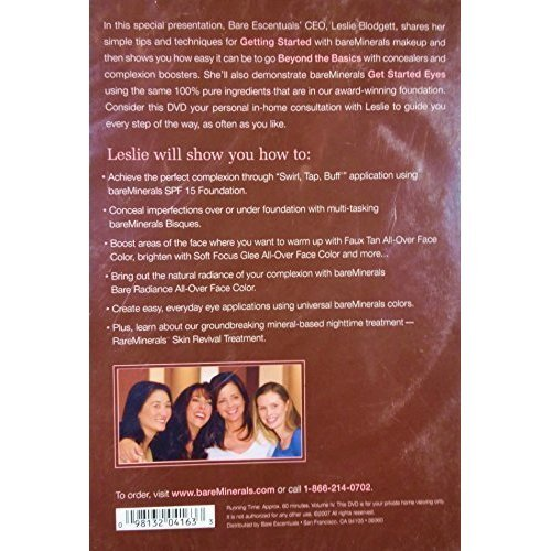 Quick Start to Bare Beauty - How to Guide - bareMinerals DVD 2007