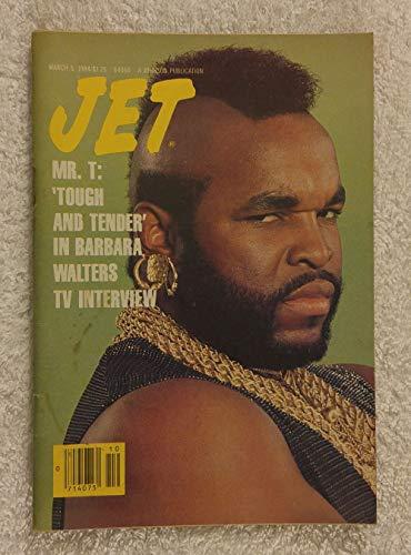 Mr. T - Tough & Tender in Barbara Walters TV Interview - Jet Magazine - March 5, 1984 (Best Barbara Walters Interviews)