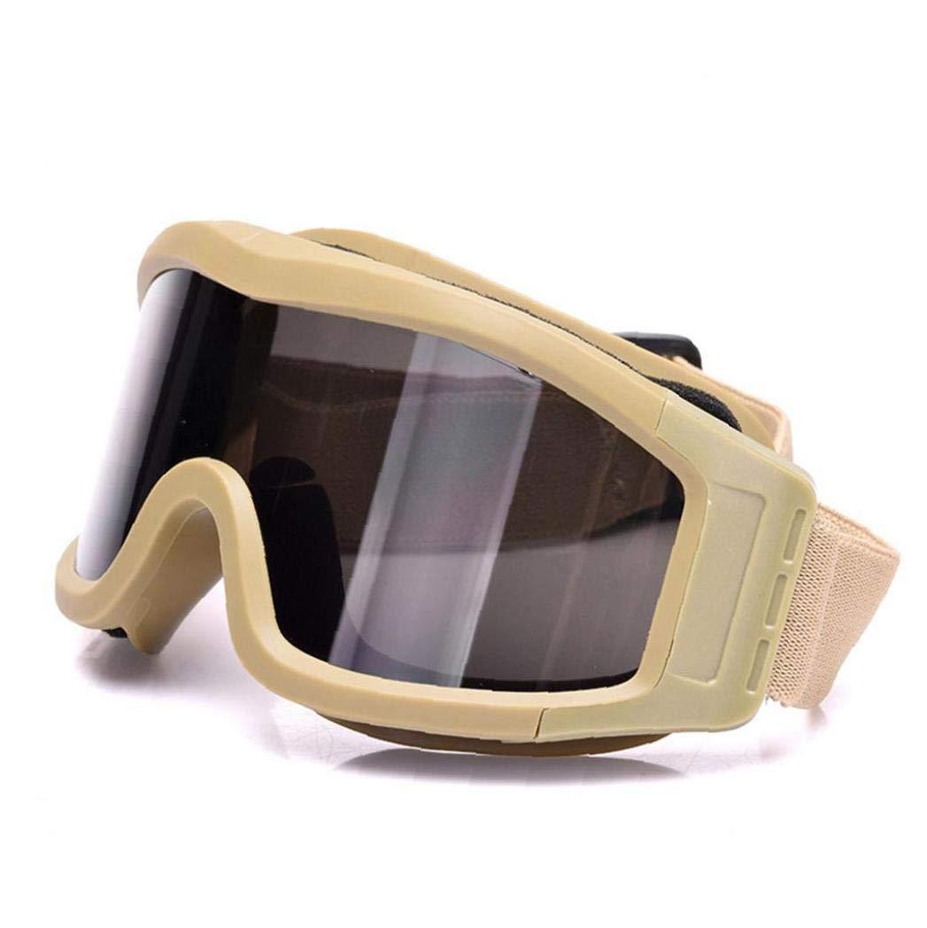 1 Juego De Tiro Vidrios De La Pc contra La Niebla Gafas Protectoras a Prueba De Viento Racing Multifunci/ón Gafas De Sol Al Aire Libre Gafas Protectoras Beige