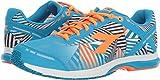 Diadora Unisex Mythos Racer Evo 2 Fluo Cyan Blue/Fluo Orange Athletic Shoe For Sale