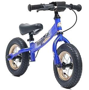 """BIKESTAR Bicicleta sin pedales para niños ★ 10 pulgadas ★ Color Azul ★ A partir de 2-3 años ★ 10"""" Sport Edition 2018"""