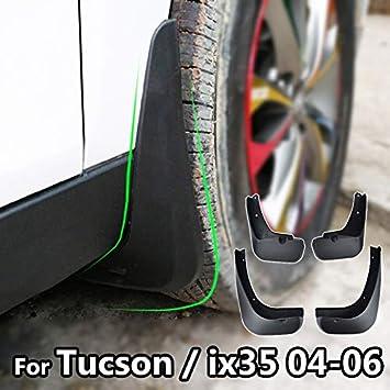 XUKEY - Juego de 4 Protectores de Salpicaduras para Hyundai Tucson IX35 (2010-2015): Amazon.es: Coche y moto