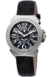 Lancaster Women's  OLA0348GNR/NR Pillola Black Dial Watch Model
